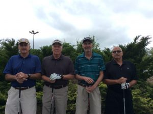 Group Picture of the golf Players at the 10th Annual Golf Tournament for east Hills Recreation - 15