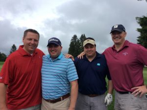 Group Picture of the golf Players at the 10th Annual Golf Tournament for east Hills Recreation - 12