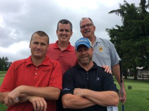 Group Picture of the golf Players at the 10th Annual Golf Tournament for east Hills Recreation - 11