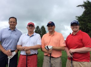 Group Picture of the golf Players at the 10th Annual Golf Tournament for east Hills Recreation - 10
