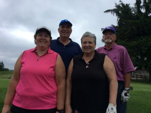 Group Picture of the golf Players at the 10th Annual Golf Tournament for east Hills Recreation - 8