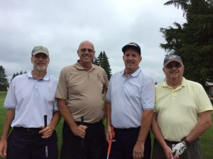 Group Picture of the golf Players at the 10th Annual Golf Tournament for east Hills Recreation - 6