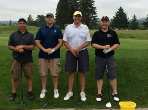 Group Picture of the golf Players at the 10th Annual Golf Tournament for east Hills Recreation - 5