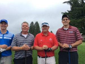 Group Picture of the golf Players at the 10th Annual Golf Tournament for east Hills Recreation - 3