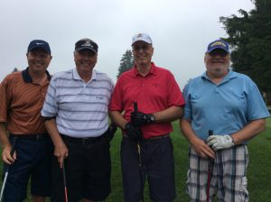 Group Picture of the golf Players at the 10th Annual Golf Tournament for east Hills Recreation - 2